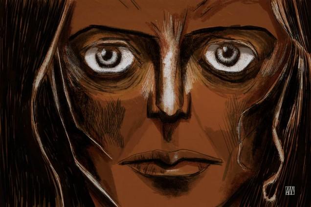 illustration Insomniac by Anna Eileen Doyle