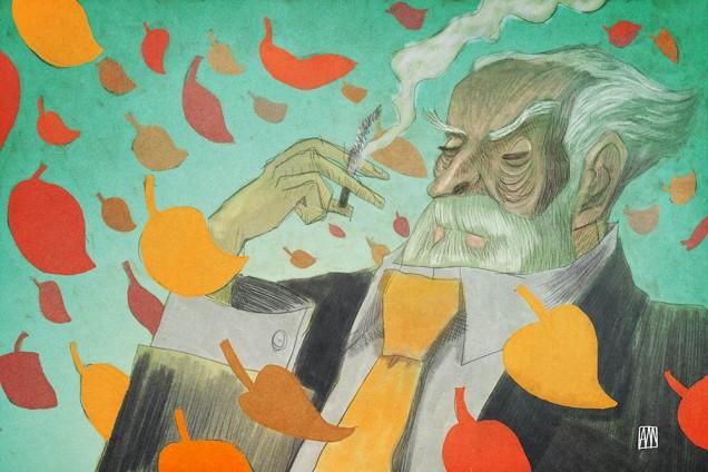 Illustration for Mr. Crestfallen by Alé Mercado