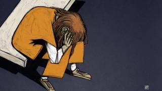 Orange Overalls illustration by Alé Mercado