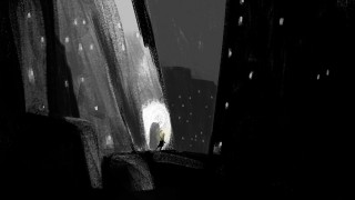 Illustration for Song In A Dark Cold Place by Alé MErcado