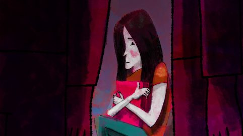 Illustration by Alé Mercado for poem Bullying