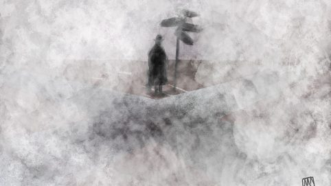 Ale Mercado illustration for A Foggy Future