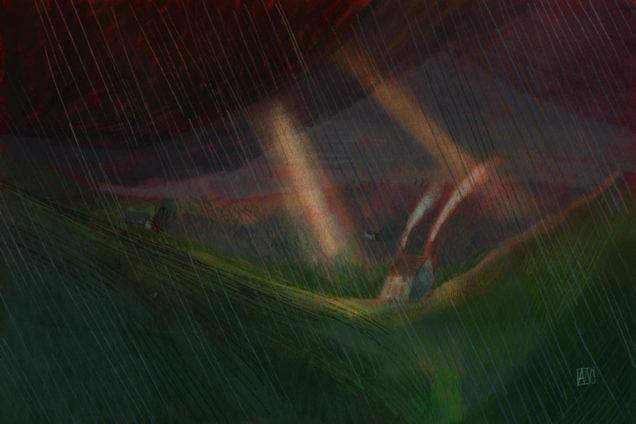 Illustration by Alé Mercado for Depression by Joshua Nolan