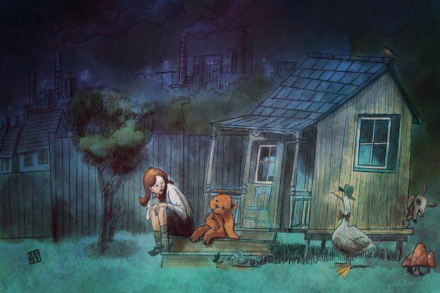 Ale Mercado illustration for You Told Me by Sofia Marsella
